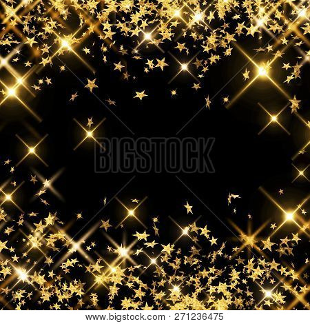 Abstract, Background, Black, Christmas, Confetti, Decoration, Design, Shooting Stars, Sparkle, Glow,