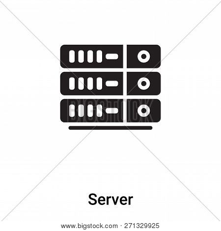 Server Icon Trendy Vector & Photo (Free Trial)   Bigstock