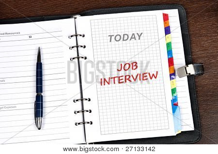 Job  interview on today page