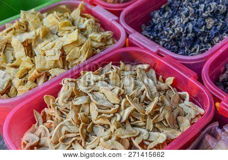 Dry Food For Sale At Rural Market
