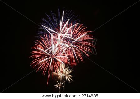 Fireworks Fourth Of July Celebrating