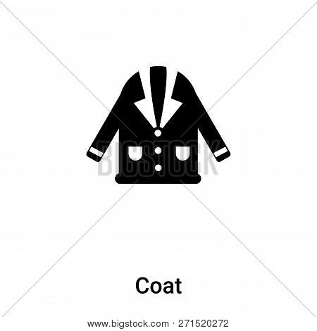 c8cb7c2dcab9 Coat icon isolated on white background. Coat vector icon simple and modern  flat symbol for web site, mobile, logo, app, UI. Coat icon vector  illustration, ...