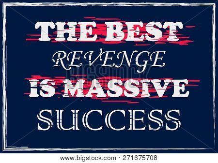 Best Revenge Massive Vector & Photo (Free Trial) | Bigstock