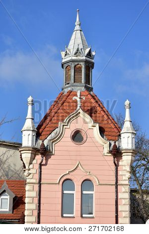 Historic Building Of Town Gyor In Hungary
