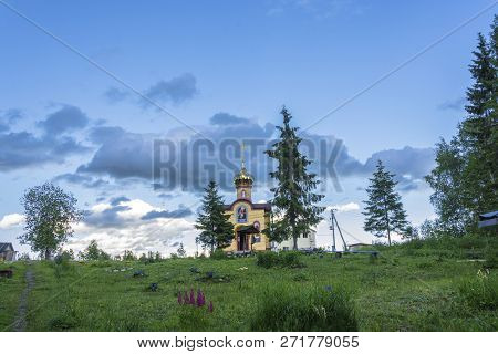 Chapel On The Holy Spring In Honor Of The Nativity Of The Most Holy Mother Of God, Russia.