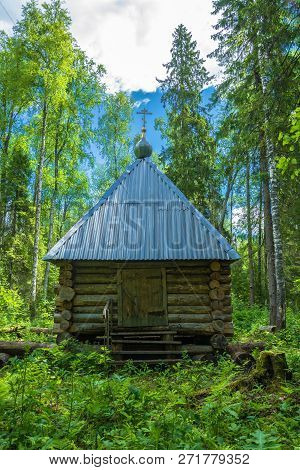 The Holy Spring Of The Great Martyr Paraskeva Friday Batin Klyuch, Russia.
