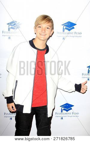 LOS ANGELES - DEC 1: Blake Hendricks at the Fulfillment Fund's 45th Annual Holiday Party for kids at CBS Television City on December 1, 2017 in Los Angeles, California
