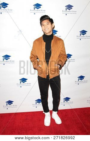 LOS ANGELES - DEC 1: Gabe De Guzman at the Fulfillment Fund's 45th Annual Holiday Party for kids at CBS Television City on December 1, 2017 in Los Angeles, California