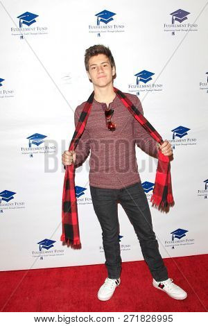 LOS ANGELES - DEC 1: Lofton Shaw at the Fulfillment Fund's 45th Annual Holiday Party for kids at CBS Television City on December 1, 2017 in Los Angeles, California