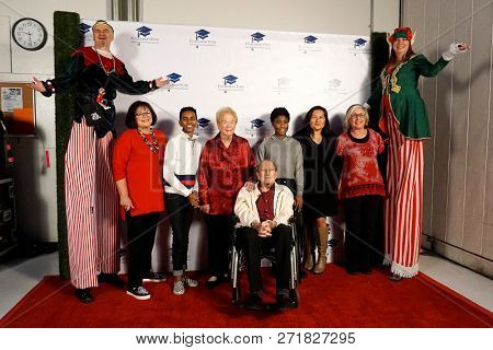 LOS ANGELES - DEC 1: Atmosphere at the Fulfillment Fund's 45th Annual Holiday Party for kids at CBS Television City on December 1, 2017 in Los Angeles, California
