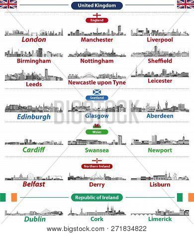 Cities Skylines Of British Isles Countries: United Kingdom (england, Wales, Scotland, Northern Irela