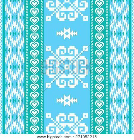 Winter Pattern In Ethnic Style