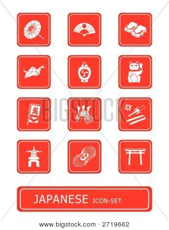 Japanese Culture Icon-Set