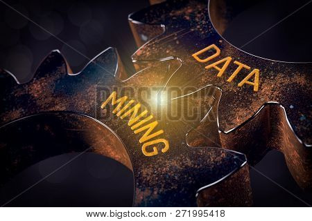 Data Mining (data-mining) Process And Big Data Analysis (bigdata) Issue Concept.