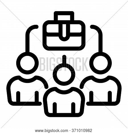 Marketing Auditory Icon. Outline Marketing Auditory Vector Icon For Web Design Isolated On White Bac