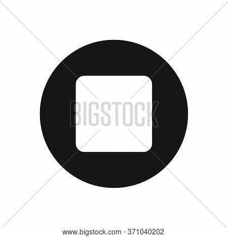 Multimedia Icon Isolated On White Background. Multimedia Icon In Trendy Design Style For Web Site An