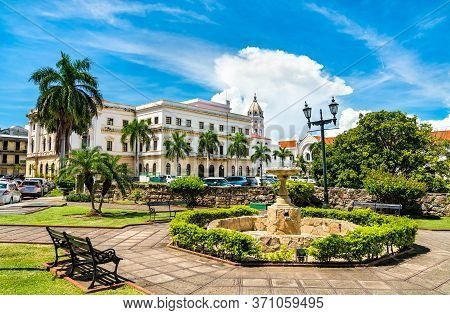 National Theatre Of Panama In Casco Antiguo, Panama City