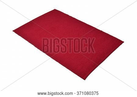 Placemat Isolated On White Background. Dining Mat