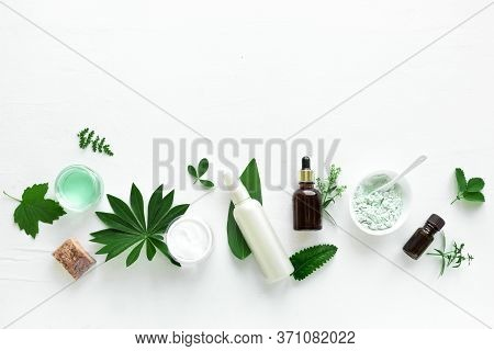 Natural Cosmetics Ang Green Leaves