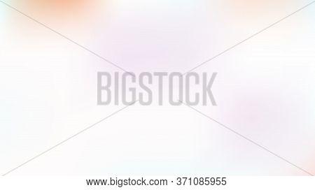Unfocused Mesh Vector Background, Hologram Neon Overlay. Dreamy Pink, Purple, Turquoise Nice Female