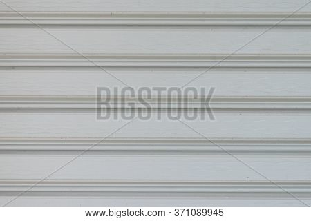 Close-up Rolling Shutters, Stripe Texture Of Metal Shutter Door For Background.