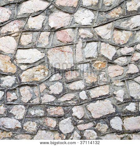 Masonry wall closeup background.