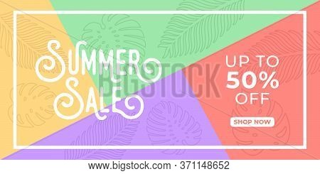 Summer Sale. Summer Sale vector. Summer Sale background. Summer Sale illustration. Summer Sale design. Summer Sale template. Trendy Summer Sale vector background. Summer Sale vector illustration for banner, poster, invitation, design template.