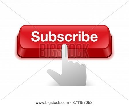 Subscribe Button - Users Motivation For Subscribing On Media Video Channel (account) With Keyboard B