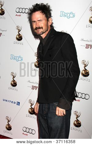LOS ANGELES - SEP 21:  Jeremy Davies arrives at the Primetime Emmys Performers Nominee Reception at Spectra by Wolfgang Puck on September 21, 2012 in Los Angeles, CA