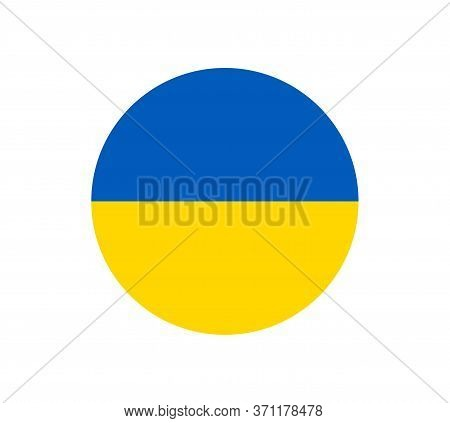 Ukraine Flag, Official Colors And Proportion Correctly. National Ukraine Flag. Flat Vector Illustrat