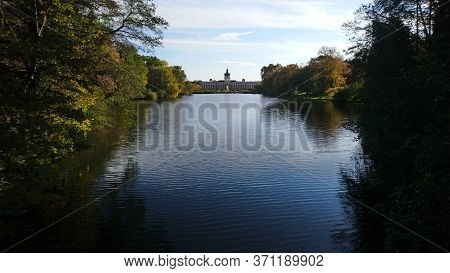 Beautiful Charlottenburg Palace In The Capital Of Germany