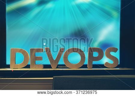 Devops Or Development Operations Concept. Devops Letters