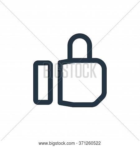 Like Vector Icon. Like Editable Stroke. Like Linear Symbol For Use On Web And Mobile Apps, Logo, Pri