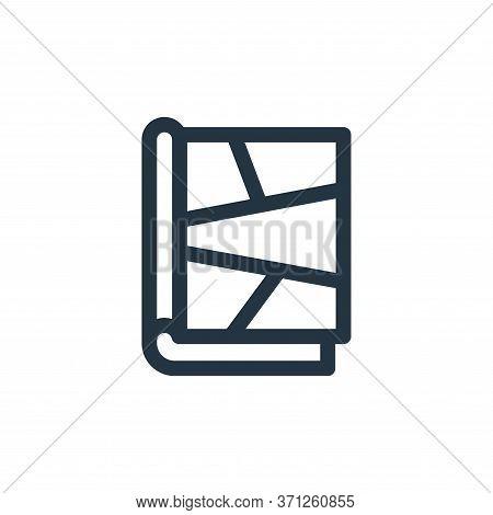 Comic Book Vector Icon. Comic Book Editable Stroke. Comic Book Linear Symbol For Use On Web And Mobi