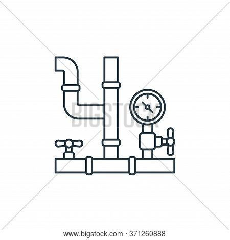 Pipe Vector Icon. Pipe Editable Stroke. Pipe Linear Symbol For Use On Web And Mobile Apps, Logo, Pri
