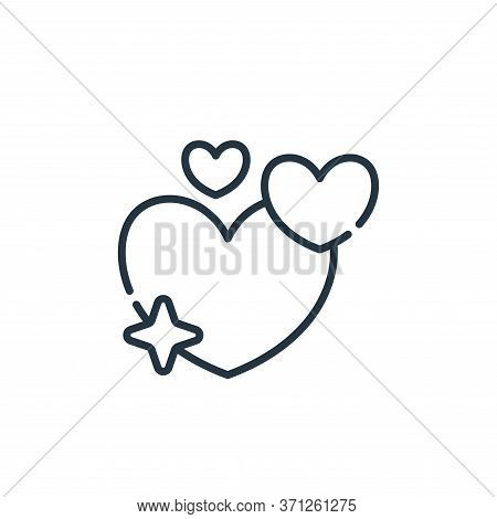 Love Vector Icon. Love Editable Stroke. Love Linear Symbol For Use On Web And Mobile Apps, Logo, Pri