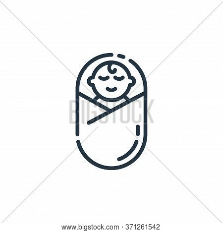 Child Vector Icon. Child Editable Stroke. Child Linear Symbol For Use On Web And Mobile Apps, Logo,