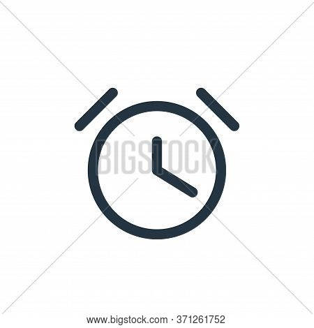 Timer Vector Icon. Timer Editable Stroke. Timer Linear Symbol For Use On Web And Mobile Apps, Logo,