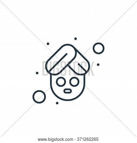 Spa And Relax Vector Icon. Spa And Relax Editable Stroke. Spa And Relax Linear Symbol For Use On Web