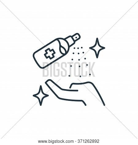 Cleaning Spray Vector Icon. Cleaning Spray Editable Stroke. Cleaning Spray Linear Symbol For Use On