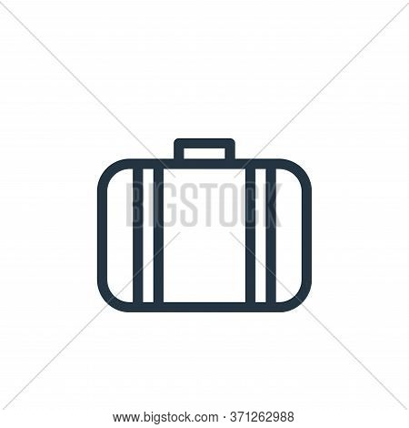 Suitcase Vector Icon. Suitcase Editable Stroke. Suitcase Linear Symbol For Use On Web And Mobile App