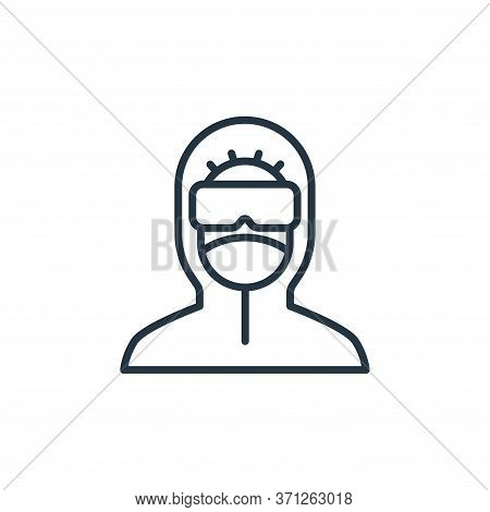 Protective Clothing Vector Icon. Protective Clothing Editable Stroke. Protective Clothing Linear Sym