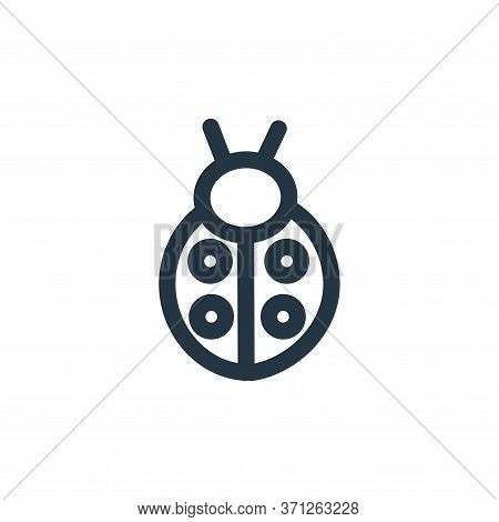 Bug Vector Icon. Bug Editable Stroke. Bug Linear Symbol For Use On Web And Mobile Apps, Logo, Print