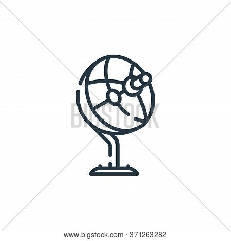 Satellite Dish Vector Icon. Satellite Dish Editable Stroke. Satellite Dish Linear Symbol For Use On