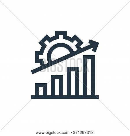 Data Analytics Vector Icon. Data Analytics Editable Stroke. Data Analytics Linear Symbol For Use On