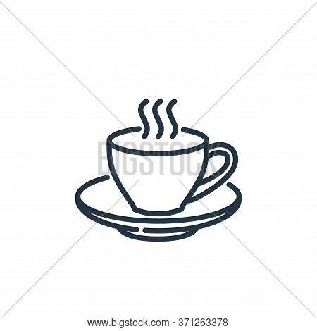 Coffee Cup Vector Icon. Coffee Cup Editable Stroke. Coffee Cup Linear Symbol For Use On Web And Mobi