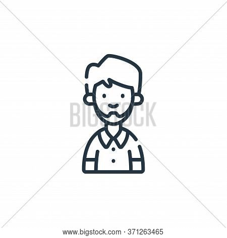 Husband Vector Icon. Husband Editable Stroke. Husband Linear Symbol For Use On Web And Mobile Apps,