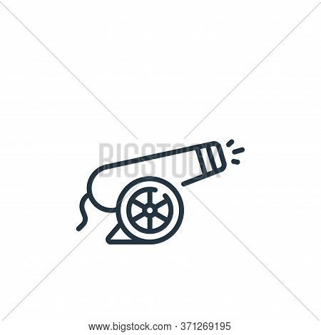 Cannon Vector Icon. Cannon Editable Stroke. Cannon Linear Symbol For Use On Web And Mobile Apps, Log