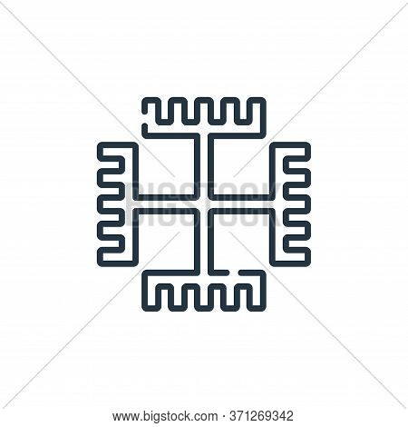 Paganism Vector Icon. Paganism Editable Stroke. Paganism Linear Symbol For Use On Web And Mobile App