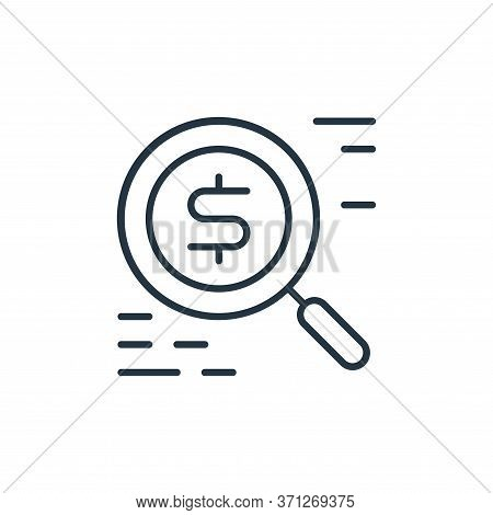 Funds Vector Icon. Funds Editable Stroke. Funds Linear Symbol For Use On Web And Mobile Apps, Logo,